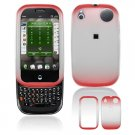 Hard Plastic Two Tone Frost Cover Case for Palm Pre - Red
