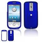 Hard Plastic Rubber Feel Cover Case for HTC G2 Mytouch - Dark Blue