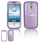 Hard Plastic Smooth Glossy Cover Case for HTC G2 Mytouch - Light Purple
