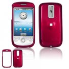 Hard Plastic Smooth Glossy Cover Case for HTC G2 Mytouch - Rose Pink