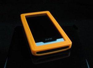 Orange Soft Rubber Silicone Skin Case Cover for Microsoft Zune HD 16GB/32GB Player