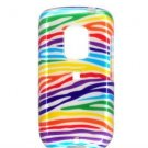 Hard Plastic Design Faceplate Case Cover for HTC Hero - Rainbow Stripes