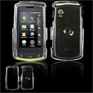 Hard Plastic Glossy Faceplate Case Cover for LG Bliss UX700 - Clear