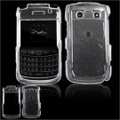 Hard Plastic Glossy Faceplate Case for BlackBerry Bold 2 9700 - Clear