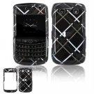 Hard Plastic Shield Protector Faceplate Case for BlackBerry Bold 2 9700 - Dark Blue/Black