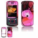 Hard Plastic Design Faceplate Case Cover for Motorola Debut i856 - Red Heart
