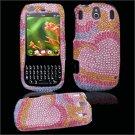 Hard Plastic Design Gem Bling Case for Palm Pixi - Pink Heart
