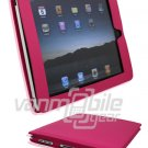 "Hot Pink Leather ""Slider"" Case for Apple iPad"