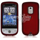"Red Hard ""Rubber Feel"" Case for HTC Hero (Sprint)"