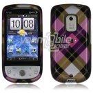 Pink Arygle Design Hard Casefor HTC Hero (Sprint)