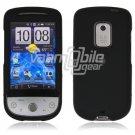 """Black Hard """"Rubber Feel"""" Case for HTC Hero (Sprint)"""