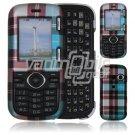 Blue Design Hard 2-Pc Snap On Faceplate Case for LG Cosmos/LG Rumor 2 (Verizon/Sprint)
