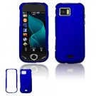 """Blue Hard """"Rubber Feel"""" Case for Samsung Mythic A897 (AT&T)"""