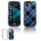 Black/Blue Design Hard Case for Samsung Mythic A897
