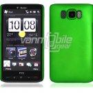 "Green Hard 1-Pc Rubberized ""Back/Rear"" Case for HTC HD2 (T-Mobile)"