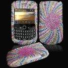 Colorful Design Hard Gem Bling Case for BlackBerry Curve 8520