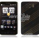 Gray/Black Design 1-Pc Hard Case for HTC HD2 (T-Mobile)