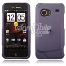 """Lavender Hard 2-Pc """"Rubberize"""" Snap On Faceplate Case for HTC Droid Incredible"""
