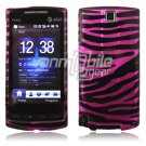 Pink/Black Stripes Design Hard 2-Pc Faceplate Case for HTC Pure (AT&T)