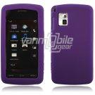 Purple Soft Cover for LG Vu CU915/CU920