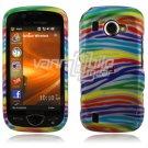 Colorful Stripes Design Hard Case for Samsung Omnia 2 i920 (Verizon Wireless)