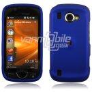 "Blue Hard ""Rubber Feel"" 2-Pc Snap On Case for Samsung Omnia 2 i920 (Verizon Wireless)"