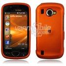 "Orange Hard ""Rubber Feel"" 2-Pc Snap On Case for Samsung Omnia 2 i920 (Verizon Wireless)"