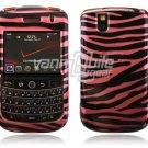 Pink/Black Zebra Design Hard Case for BlackBerry Tour 9600/9630