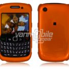 """Orange Hard """"Glossy/Shiny Smooth"""" 2-Pc Faceplate Case for BlackBerry Curve 8520/8530"""
