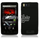 Black Soft Silicone Skin Cover Case for Motorola Droid X (Verizon Wireless)