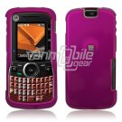 ROSE PINK GLOSSY HARD CASE COVER 4 MOTOROLA CLUTCH i465