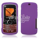 Soft Rubber Silicone Skin Cover Case for Motorola Clutch i465 - Purple