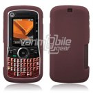 Soft Rubber Silicone Skin Cover Case for Motorola Clutch i465 - Dark Red