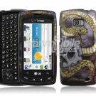 SNAKE SKULL HARD DESIGN CASE COVER for LG ALLY PHONE
