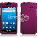 PINK HARD PLASTIC SKIN CASE for SAMSUNG CAPTIVATE PHONE