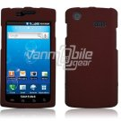 RED HARD PLASTIC SKIN CASE for SAMSUNG CAPTIVATE PHONE