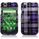 PURPLE PL DESIGN HARD CASE COVER for SAMSUNG VIBRANT