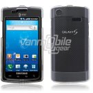 CLEAR HARD FACE PLATE CASE for SAMSUNG CAPTIVATE PHONE