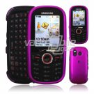 HOT PINK FACE PLATE SHIELD CASE 4 SAMSUNG INTENSITY 450