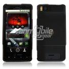 BLACK/SMOKED HARD 2-PC PLASTIC CASE for MOTOROLA DROID X PHONE