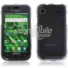 CLEAR HARD 2-PC CASE COVER for SAMSUNG VIBRANT T959 959