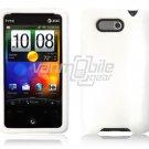 WHITE SILICON CASE COVER for HTC ARIA PHONE SKIN