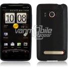 BLACK 1-PC HARD PLASTIC ACCESSORY for HTC EVO PHONE