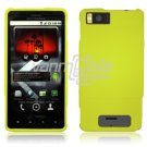 GREEN HARD 2-PC CASE COVER for MOTOROLA DROID X PHONE NR