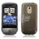 CLEAR HARD TRANSPARENT CASE COVER for HTC HERO PHONE NR