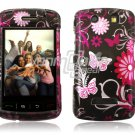 PINK BUTTERFLY Hard Case Cover for BlackBerry Storm