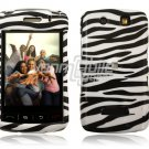BLACK WHITE ZEBRA Hard Case Cover for BlackBerry Storm