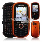 ORANGE GLOSSY FACE PLATE for SAMSUNG INTENSITY PHONE