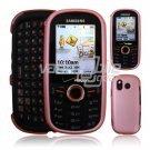 B PINK HARD RUBBERIZE CASE COVER for SAMSUNG INTENSITY