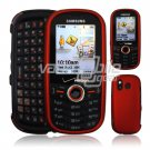 RED HARD RUBBERIZE CASE COVER for SAMSUNG INTENSITY